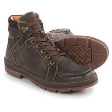 Steve Madden Levarr Boots - Leather (For Men) in Dark Brown - Closeouts