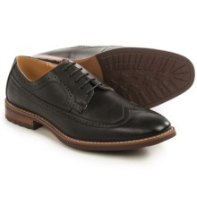 Steve Madden M-Amped Wingtip Oxford Shoes (For Men) in Black - Closeouts