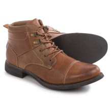 Steve Madden M-Boast Boots (For Men) in Cognac - Closeouts