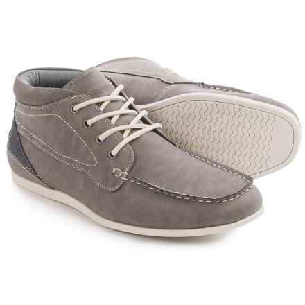 Steve Madden M-Gard Boots - Vegan Leather (For Men) in Grey - Closeouts