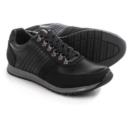 Steve Madden Nexxis Sneakers - Leather (For Men) in Black - Closeouts