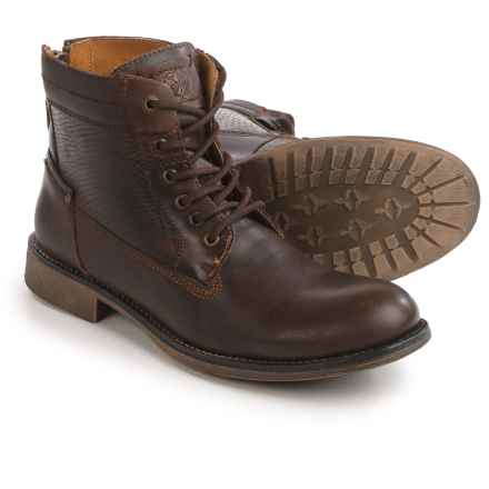 Steve Madden P-Quays Boots - Leather (For Men) in Brown - Closeouts