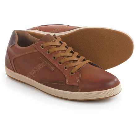 Steve Madden Peamont Sneakers - Leather (For Men) in Tan - Closeouts