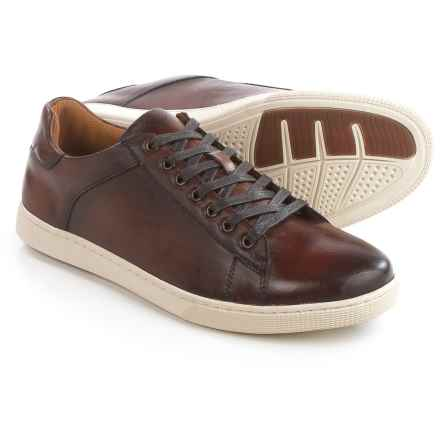 Steve Madden Ringwald Sneakers - Leather (For Men) in Tan - Closeouts