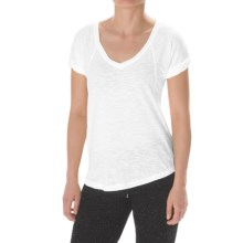 Steve Madden Slub-Knit Shirt - Relaxed Fit (For Women) in White - Closeouts