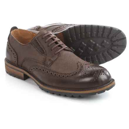 Steve Madden Sparx Wingtip Oxford Shoes - Leather (For Men) in Brown - Closeouts