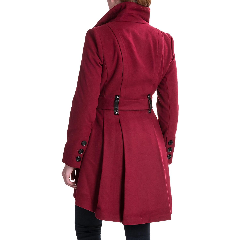 Steve Madden Sweater Wrap Coat (For Women) - Save 58%