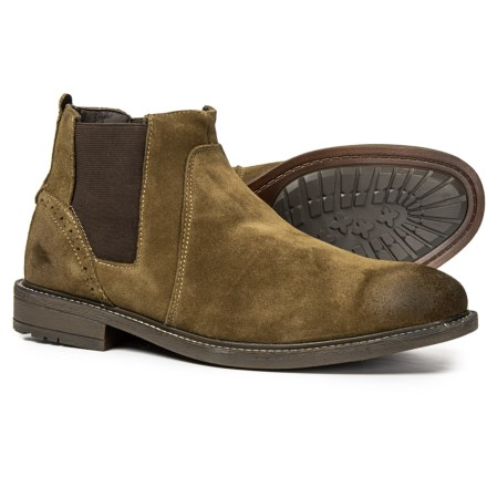 0dcae55a94b Steve Madden Tampa Chelsea Boots - Slip-Ons (For Men) in Camel