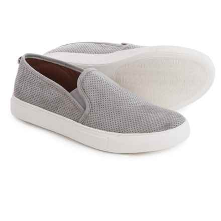 Steve Madden Zarayy-V Perforated Sneakers - Slip-Ons (For Women) in Grey - Closeouts