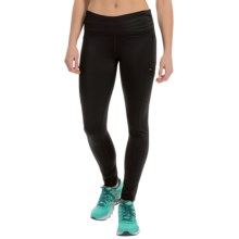 Steve Madden Zip Pocket Run Tights (For Women) in Black - Closeouts