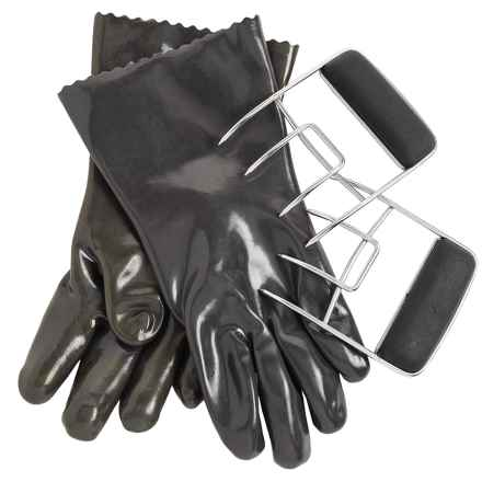 Steve Raichlen Best of Barbecue Insulated Food Gloves and Meat Claws Set in See Photo - Closeouts