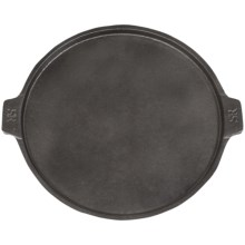 Steven Raichlen's Best of Barbecue Cast Iron Pizza Pan in Black - Closeouts