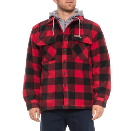 3a8585a5d2a Stillwater Supply Co Buffalo Plaid Shirt Jacket - Insulated (For Men) in  Red -