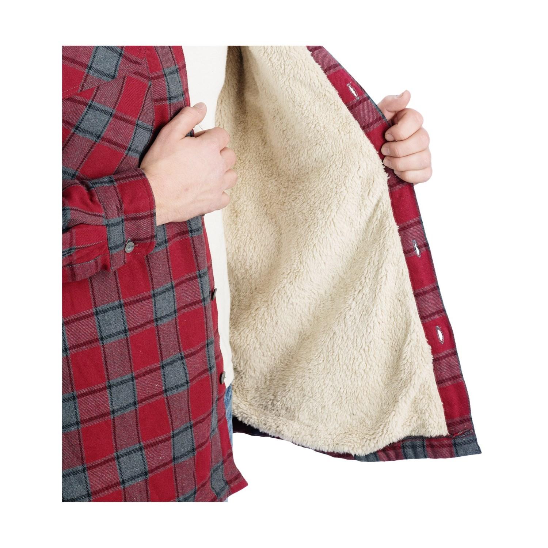 Stillwater Supply Co Flannel Shirt Jacket For Men 8249g