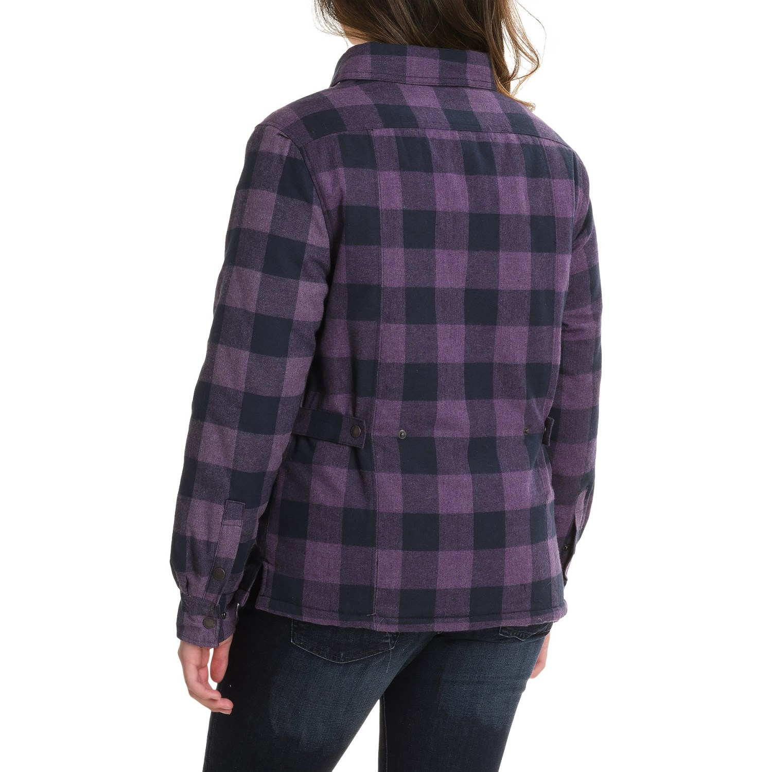 Stillwater Supply Co. Flannel Shirt Jacket (For Women) - Save 44%