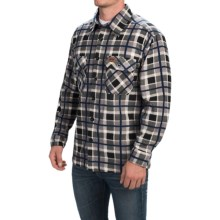 Stillwater Supply Co. Fleece Shirt Jacket (For Men) in Grey - Closeouts