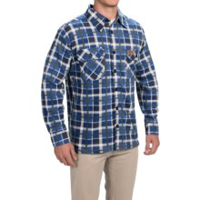 Stillwater Supply Co. Fleece Shirt Jacket (For Men) in Navy - Closeouts