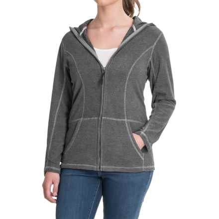 Stillwater Supply Co. Full-Zip Fleece Hoodie (For Women) in Silver - Closeouts