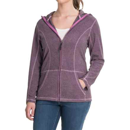 Stillwater Supply Co. Full-Zip Fleece Hoodie (For Women) in Violet - Closeouts
