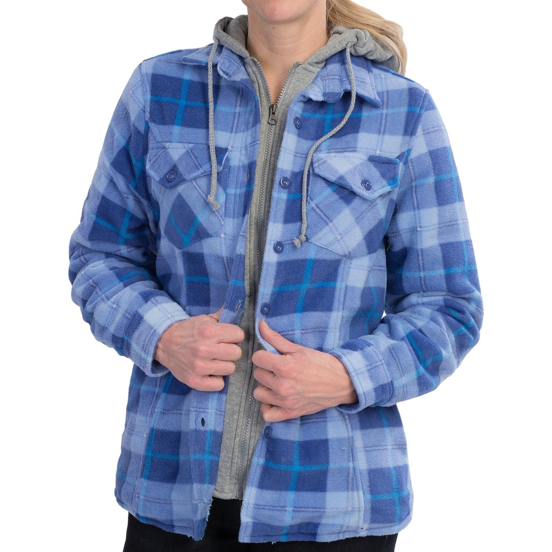 Stillwater Supply Co Heavyweight Fleece Shirt Jacket