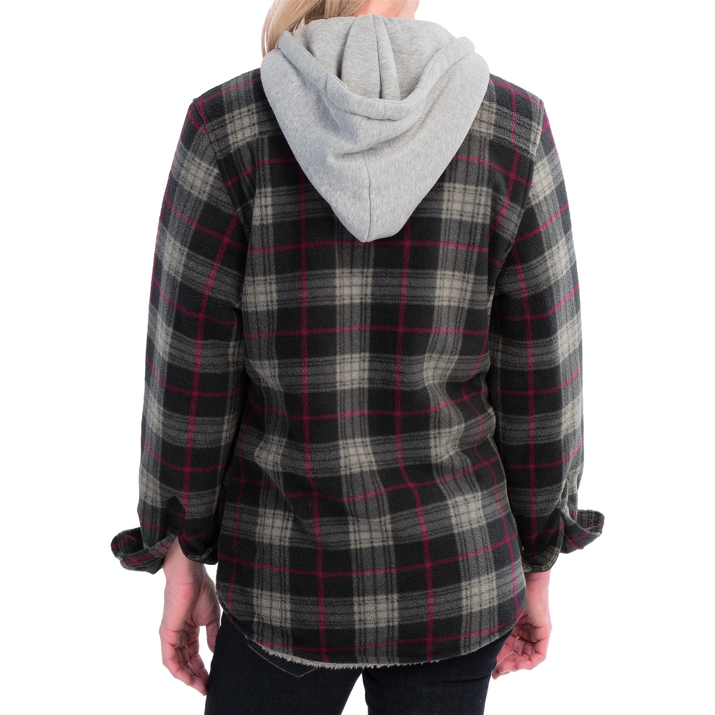 Stillwater Supply Co Heavyweight Fleece Shirt Jacket For