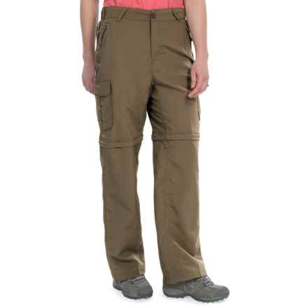 Stillwater Supply Co. Nylon Convertible Pants - UPF 40+ (For Women) in Brown - Closeouts