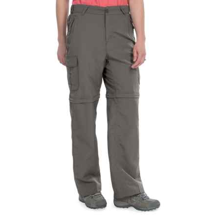 Stillwater Supply Co. Nylon Convertible Pants - UPF 40+ (For Women) in Charcoal - Closeouts