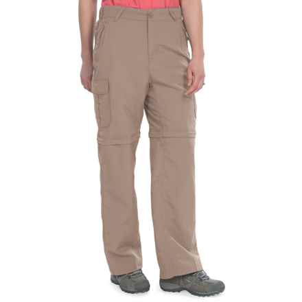 Stillwater Supply Co. Nylon Convertible Pants - UPF 40+ (For Women) in Khaki - Closeouts