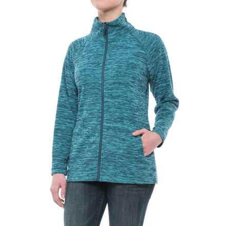 Stillwater Supply Co . Optic Fleece Jacket (For Women) in Teal - Closeouts