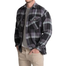 Stillwater Supply Co. Plaid Shirt Jacket (For Men) in Charcoal - Closeouts