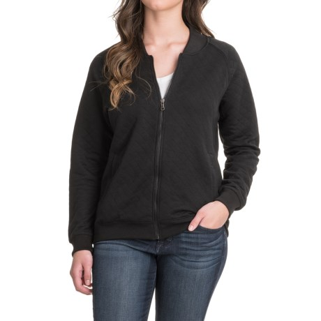 Stillwater Supply Co. Quilted Bomber Jacket (For Women)