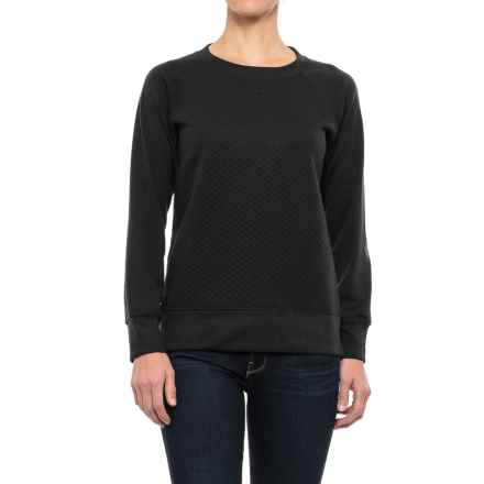 Stillwater Supply Co. Quilted Sweatshirt (For Women) in Black - Closeouts
