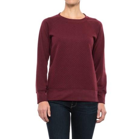 Stillwater Supply Co. Quilted Sweatshirt (For Women)