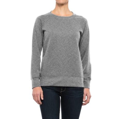 Stillwater Supply Co. Quilted Sweatshirt (For Women) - Save 70% : quilted sweatshirt - Adamdwight.com