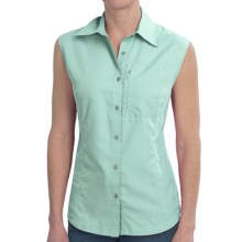 Stillwater Supply Co. Ripstop Nylon Shirt - UPF 40+, Sleeveless (For Women) in Aqua - Closeouts