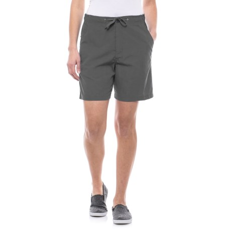 Stillwater Supply Co Sheeting Shorts (For Women)