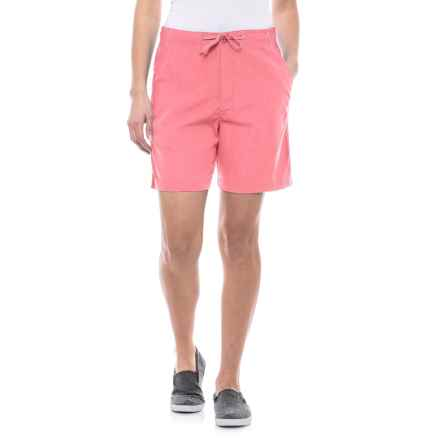 Stillwater Supply Co Sheeting Shorts (For Women) in Pink - Closeouts