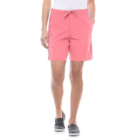 Stillwater Supply Co Sheeting Shorts (For Women) in Pink