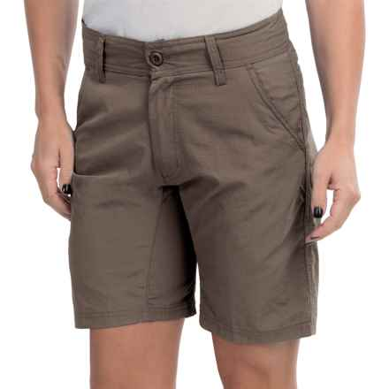 Stillwater Supply Co. Shorts - UPF 40+ (For Women) in Brown - Closeouts