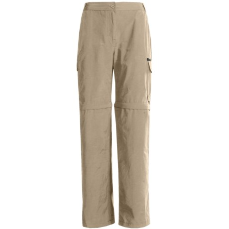 Stillwater Supply Co. Zip-Off Pants - Cotton-Nylon (For Women) in Cement