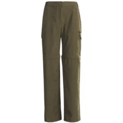 Stillwater Supply Co. Zip-Off Pants - Cotton-Nylon (For Women) in Dusty Olive