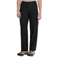 Stillwater Supply Co. Zip-Off Pants - Stretch Micro (For Women) in Black - Closeouts