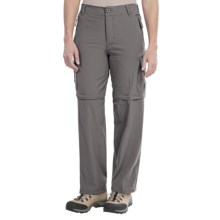 Stillwater Supply Co. Zip-Off Pants - Stretch Micro (For Women) in Grey - Closeouts