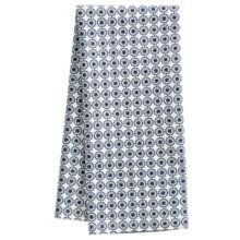 Stitch & Shuttle Aditi Print Tea Towel in Check - Closeouts