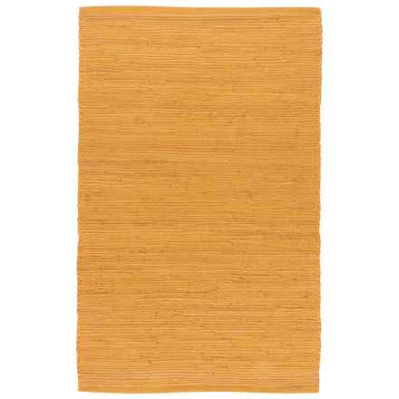 Stitch & Shuttle Chindi Accent Rug - 2x3' in Honey - Closeouts