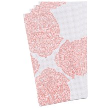 Stitch & Shuttle Cotton Napkins - Set of 4 in Henna - Closeouts