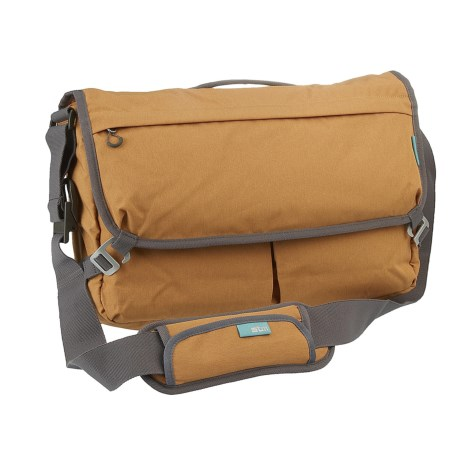 "STM Nomad 11"" Laptop Messenger Bag - Extra Small in Mustard"