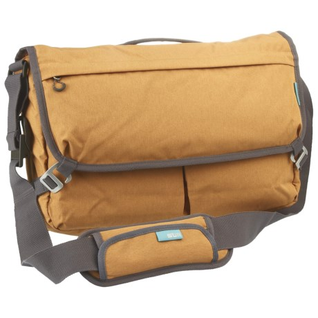 "STM Nomad 15"" Laptop Messenger Bag - Medium in Mustard"