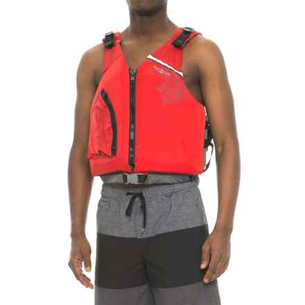 Stohlquist Escape Type III PFD Life Jacket (For Men) in Red - Closeouts