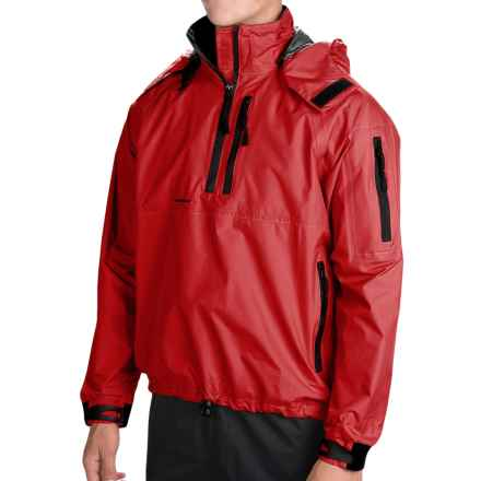 Stohlquist Torrent Seatouring Splash Jacket in Fireball Red - Closeouts